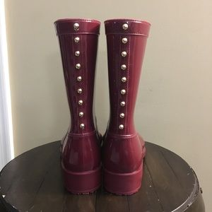 ALDO Red Rain Boots